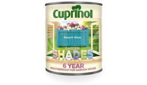 Cuprinol 1L Garden Shades – Beach Blue 50+ colours
